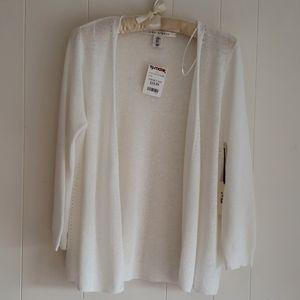 NWTs Max Studio Light Summer Cardigan Sweater M